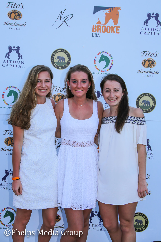Ariana Gravinese, Jo Simon & Rachel Maub; Nic Roldan's 2nd Annual Sunset Polo & White Party, FL, by Phelps Media.jpg