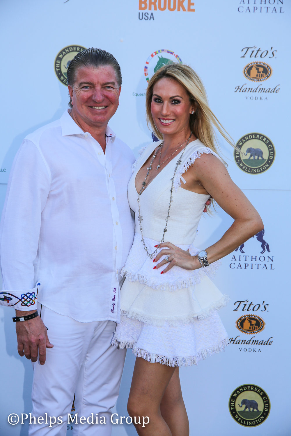 Ashley and Joe Maguire; Nic Roldan's 2nd Annual Sunset Polo & White Party, FL, by Phelps Media.jpg