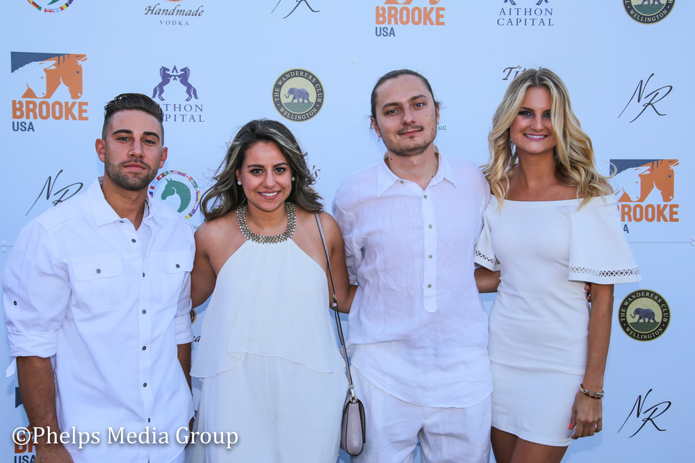 Charlotte Stribling, Oleg, Sandra and Nick; Nic Roldan's 2nd Annual Sunset Polo & White Party, FL, by Phelps Media.jpg