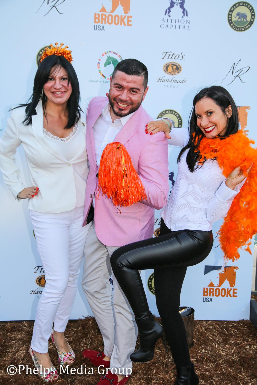Esther Rodriguez Karen and Phillip Guillardo; Nic Roldan's 2nd Annual Sunset Polo & White Party, FL, by Phelps Media.jpg