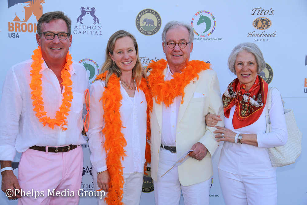 Fritz and Claudine Kundron; Nic Roldan's 2nd Annual Sunset Polo & White Party, FL, by Phelps Media.jpg