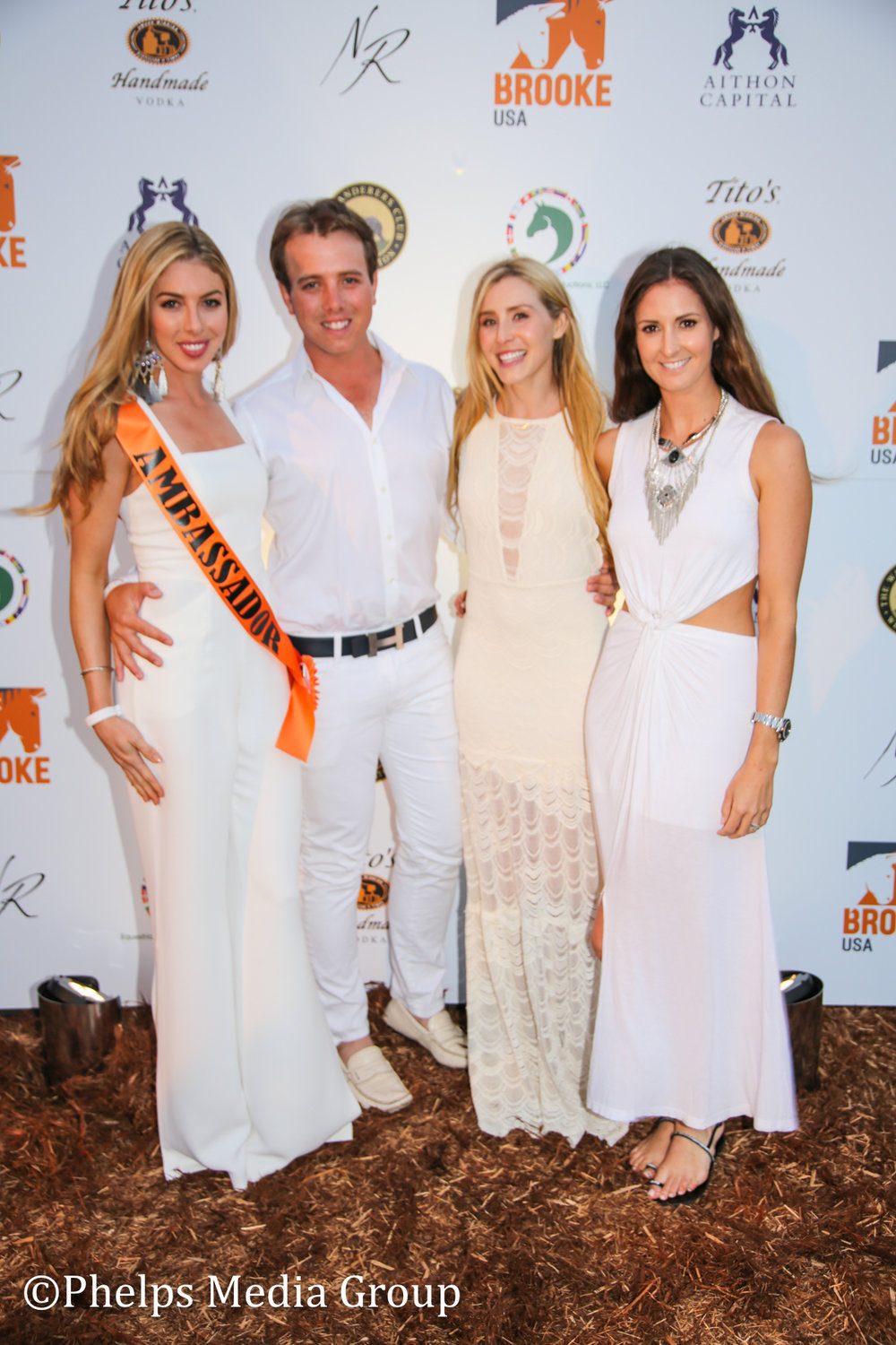 Hannah Selleck, Alex Hamer, Paige Bellissimo and Paige Pepa; Nic Roldan's 2nd Annual Sunset Polo & White Party, FL, by Phelps Media (1).jpg
