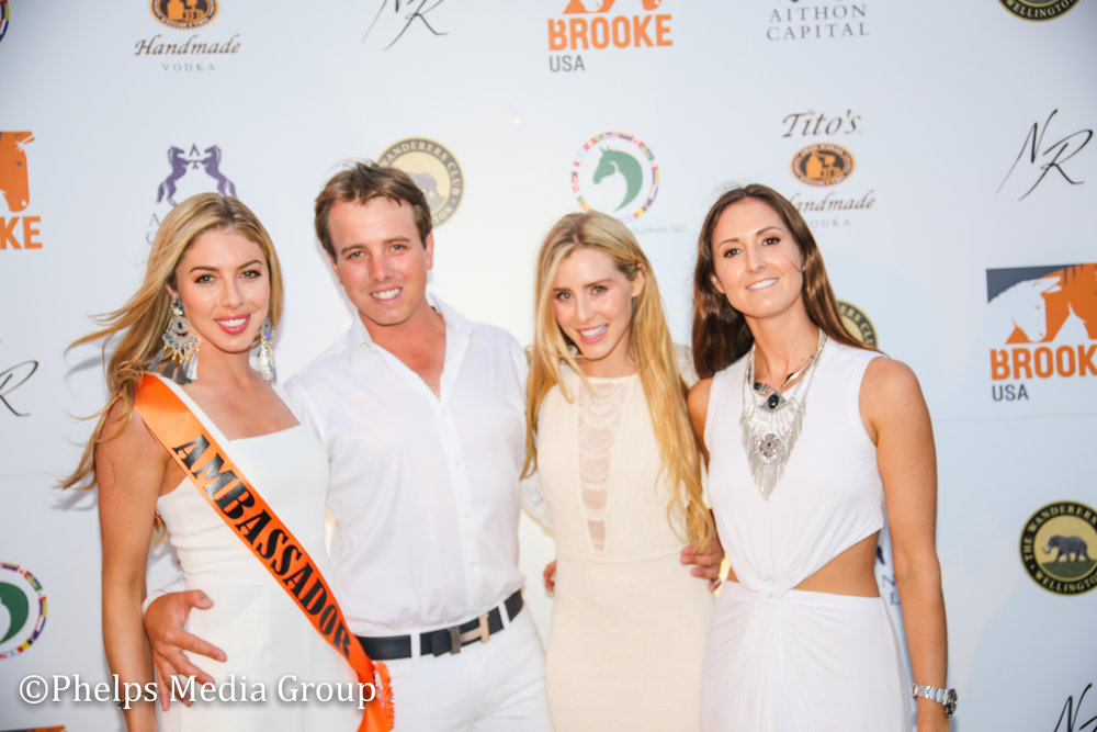 Hannah Selleck, Alex Hamer, Paige Bellissimo and Paige Pepa; Nic Roldan's 2nd Annual Sunset Polo & White Party, FL, by Phelps Media.jpg