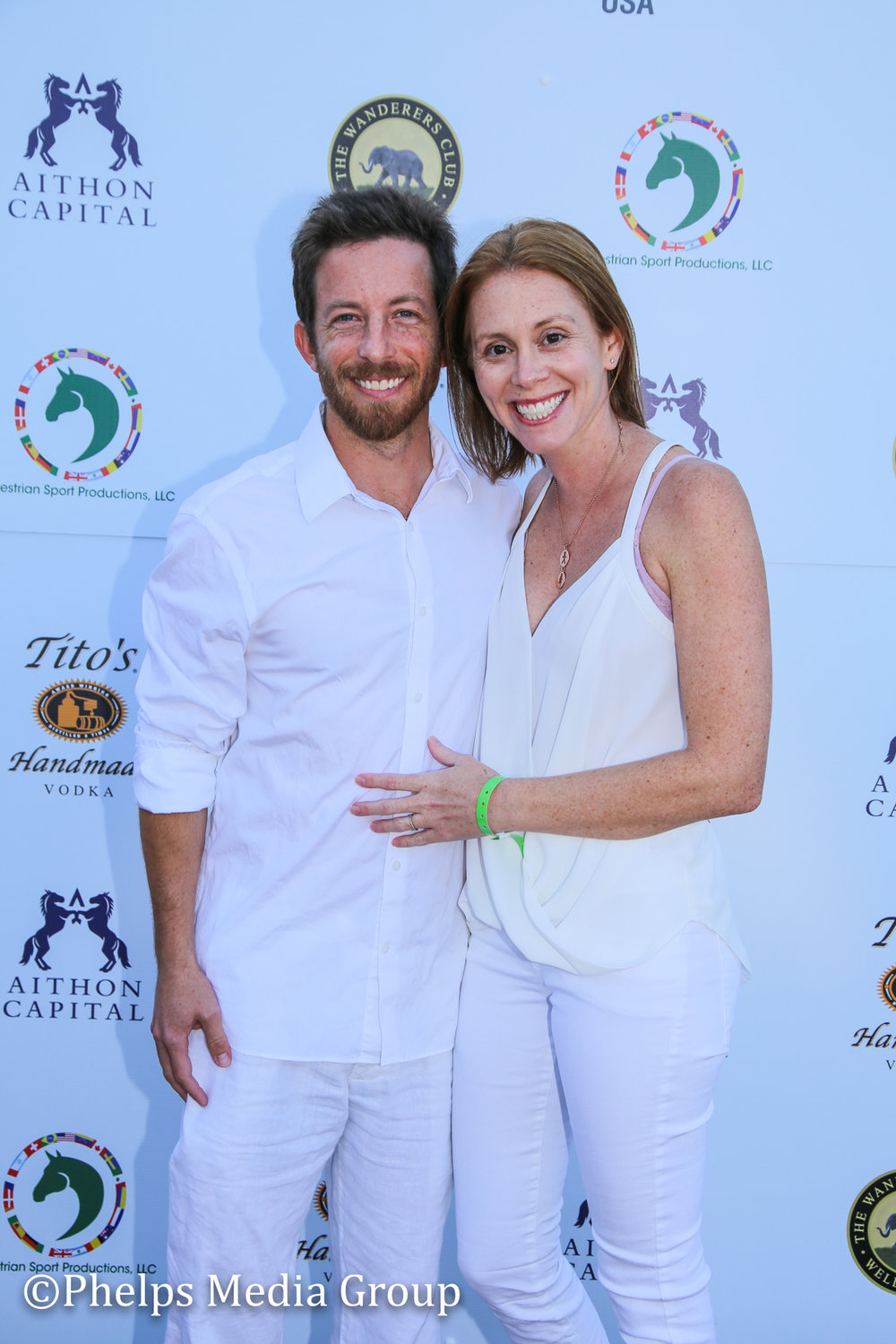 Jennifer and Keven Shapiro; Nic Roldan's 2nd Annual Sunset Polo & White Party, FL, by Phelps Media.jpg