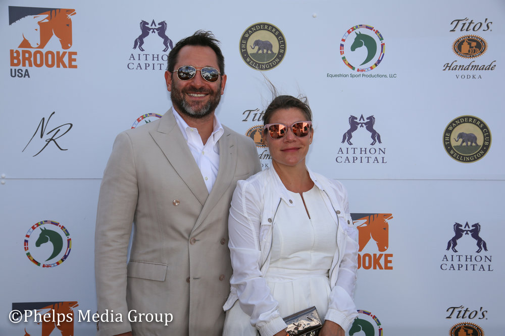 Kate Glass and Rich Neuwirth; Nic Roldan's 2nd Annual Sunset Polo & White Party, FL, by Phelps Media.jpg