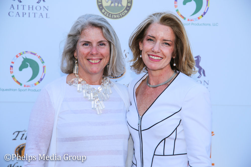 Lisa Laourie and Laura Grenning; Nic Roldan's 2nd Annual Sunset Polo & White Party, FL, by Phelps Media.jpg