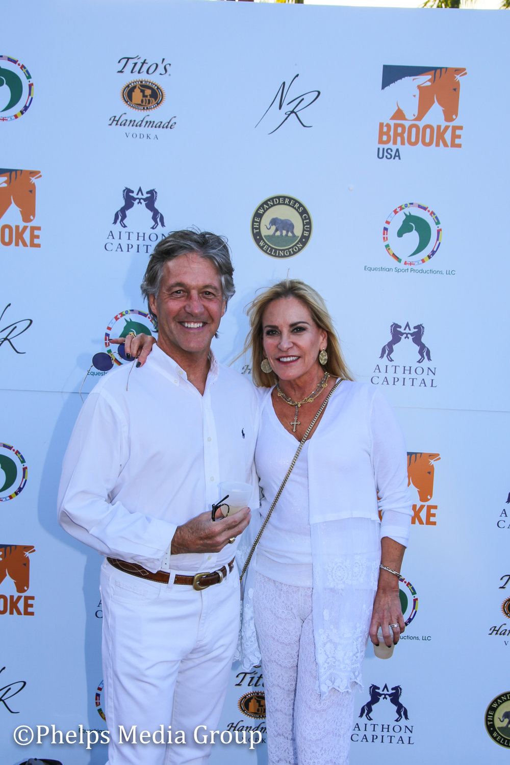 Lisa Skippington and Randy Cole; Nic Roldan's 2nd Annual Sunset Polo & White Party, FL, by Phelps Media.jpg