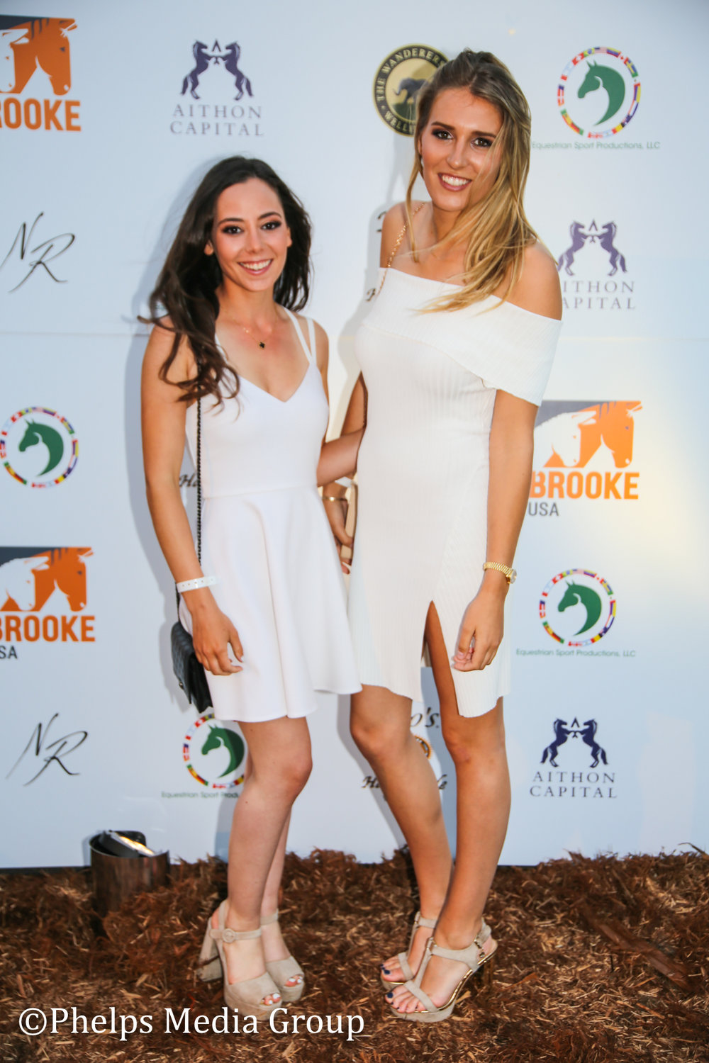 Madison Goetzman and Friend; Nic Roldan's 2nd Annual Sunset Polo & White Party, FL, by Phelps Media.jpg