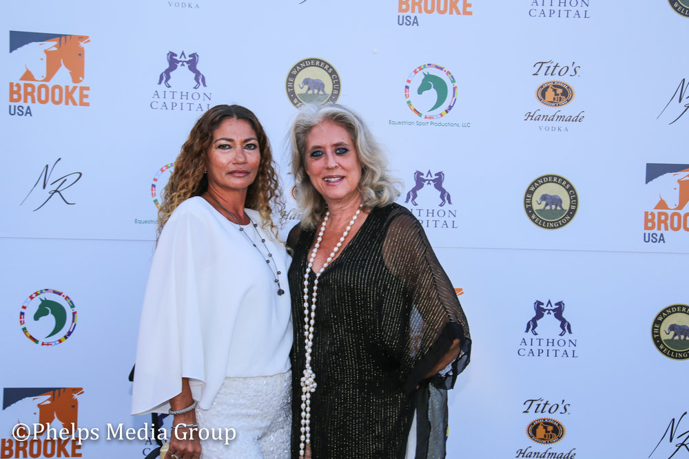 Mari and BArbara; Nic Roldan's 2nd Annual Sunset Polo & White Party, FL, by Phelps Media.jpg