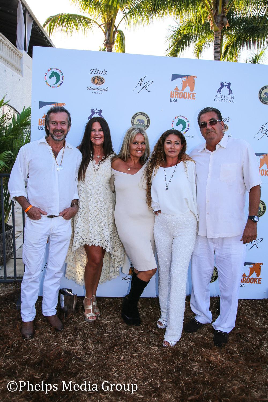 Mari Patty Jimmy Leo Norman Gitzen Leslie Mousel and Yukta Girard; Nic Roldan's 2nd Annual Sunset Polo & White Party, FL, by Phelps Media.jpg