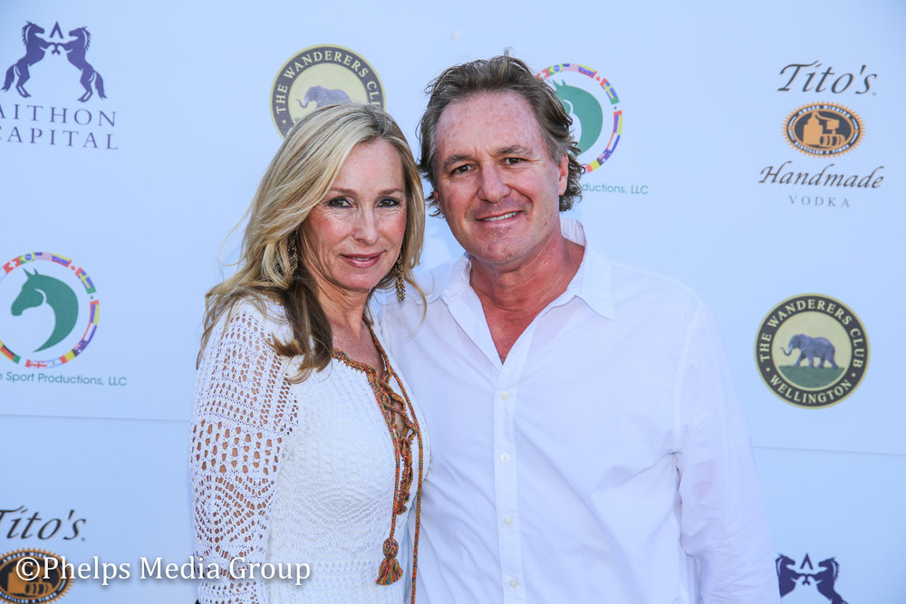 Mark and Katherine Bellissimo; Nic Roldan's 2nd Annual Sunset Polo & White Party, FL, by Phelps Media.jpg
