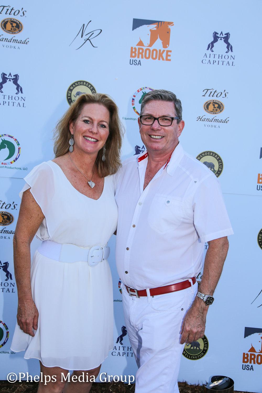 Mark Boyhan Kristina Gustafson; Nic Roldan's 2nd Annual Sunset Polo & White Party, FL, by Phelps Media.jpg