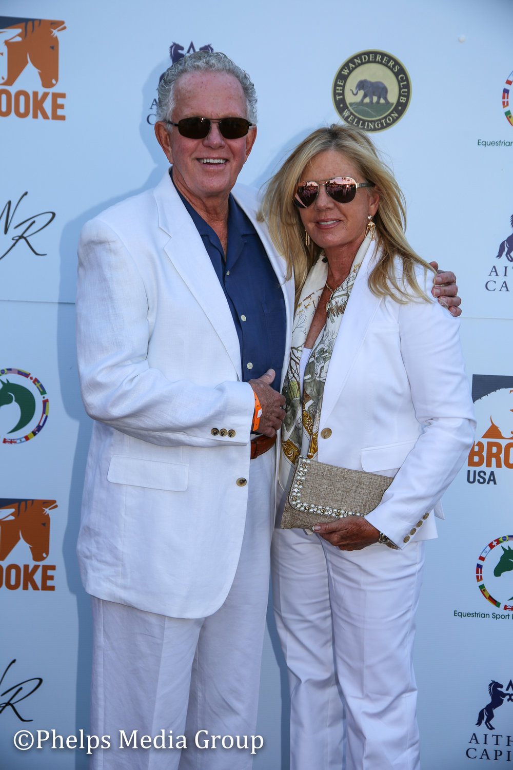 MAry and Ken Mackenzie; Nic Roldan's 2nd Annual Sunset Polo & White Party, FL, by Phelps Media.jpg