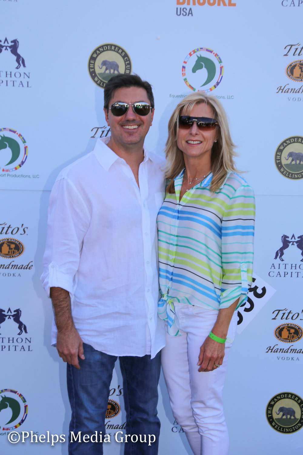 Michael and Cindi Napoleone; Nic Roldan's 2nd Annual Sunset Polo & White Party, FL, by Phelps Media.jpg