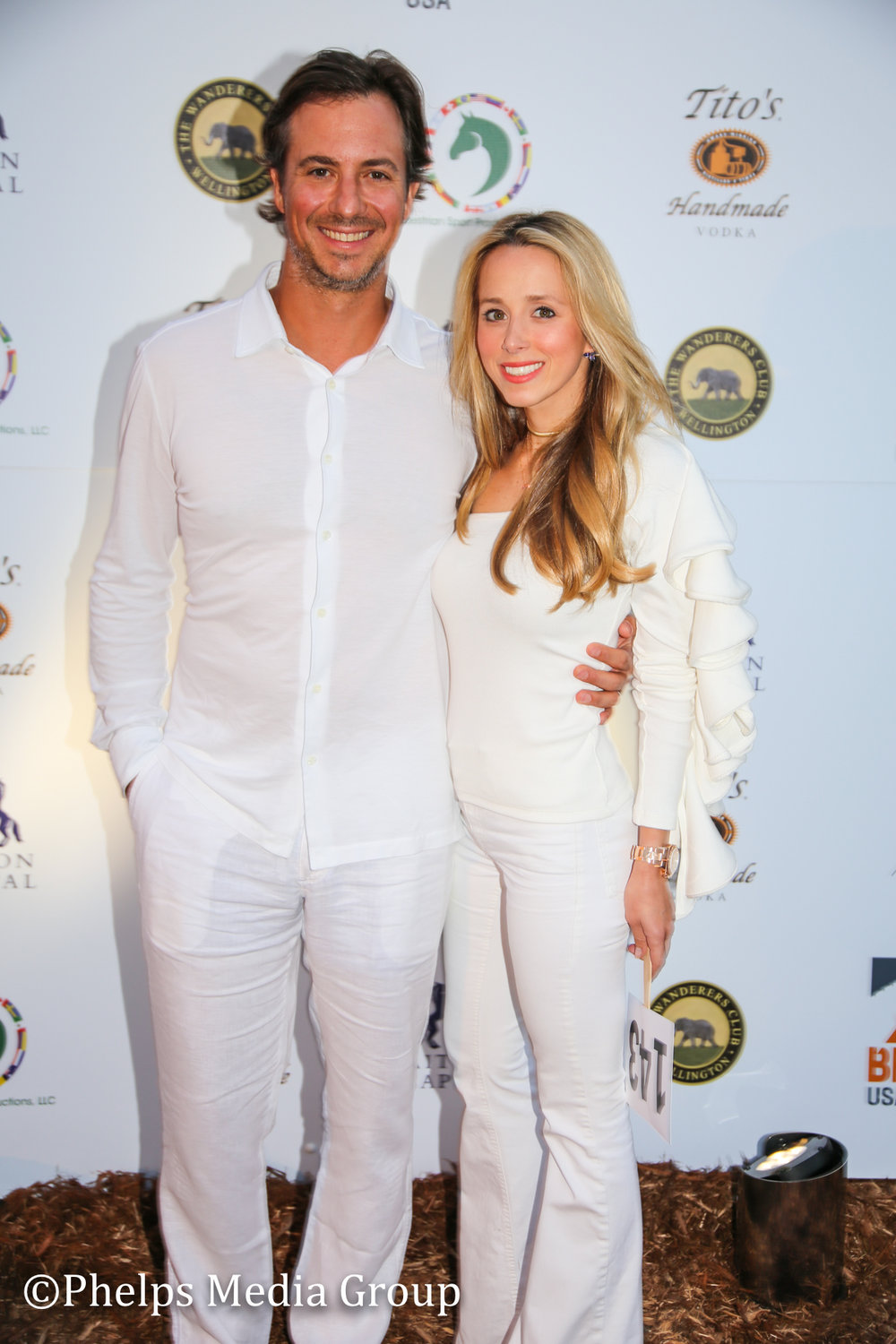 MIchael and Paula Blackford; Nic Roldan's 2nd Annual Sunset Polo & White Party, FL, by Phelps Media.jpg