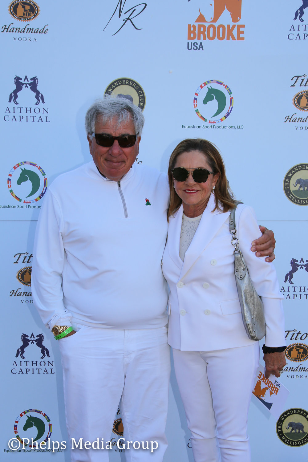 Mr and Mrs Fulchino; Nic Roldan's 2nd Annual Sunset Polo & White Party, FL, by Phelps Media.jpg