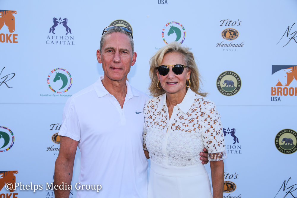 Mr and Mrs Klopp; Nic Roldan's 2nd Annual Sunset Polo & White Party, FL, by Phelps Media.jpg