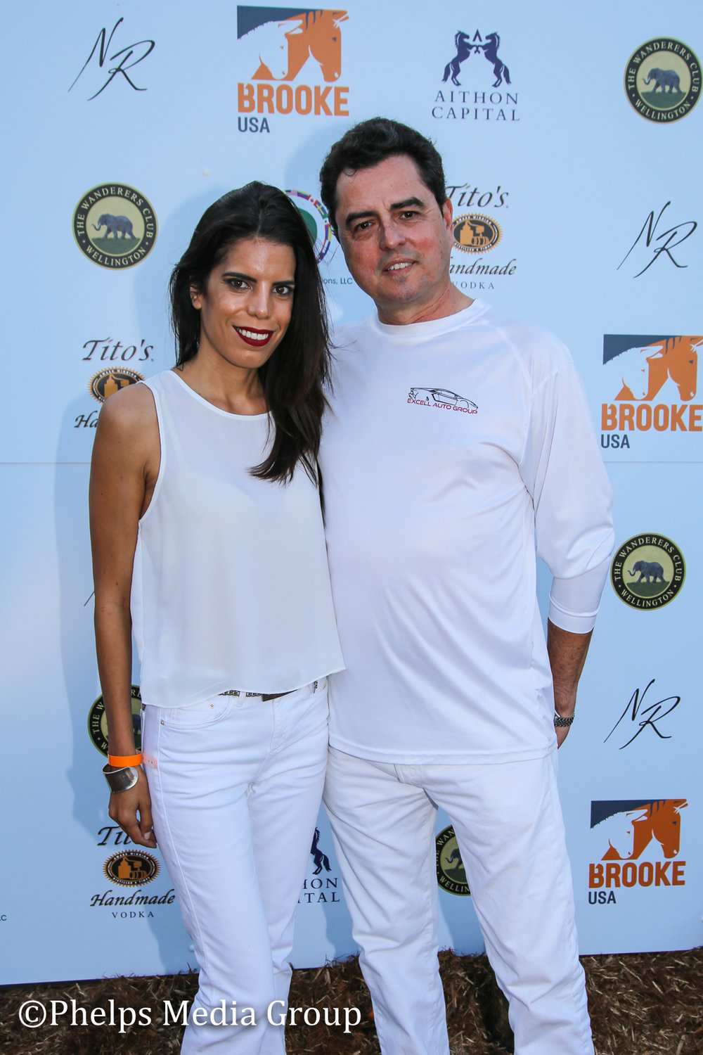 Nidia and Gustavo Lava; Nic Roldan's 2nd Annual Sunset Polo & White Party, FL, by Phelps Media.jpg