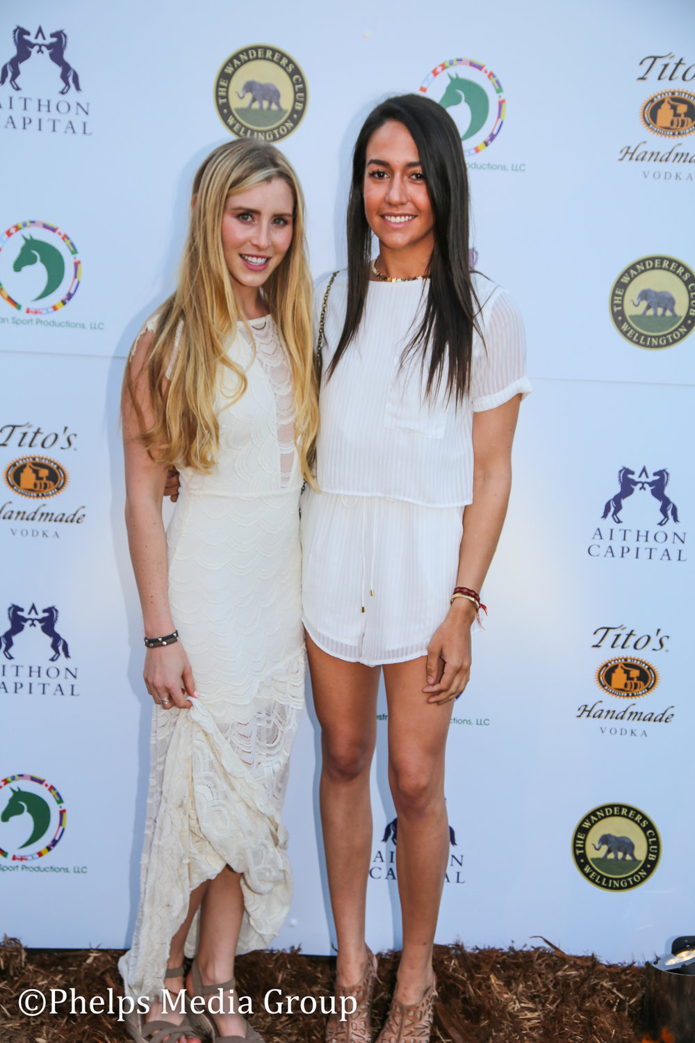 PaigeBellissmo and Lacey Gilbertson; Nic Roldan's 2nd Annual Sunset Polo & White Party, FL, by Phelps Media.jpg
