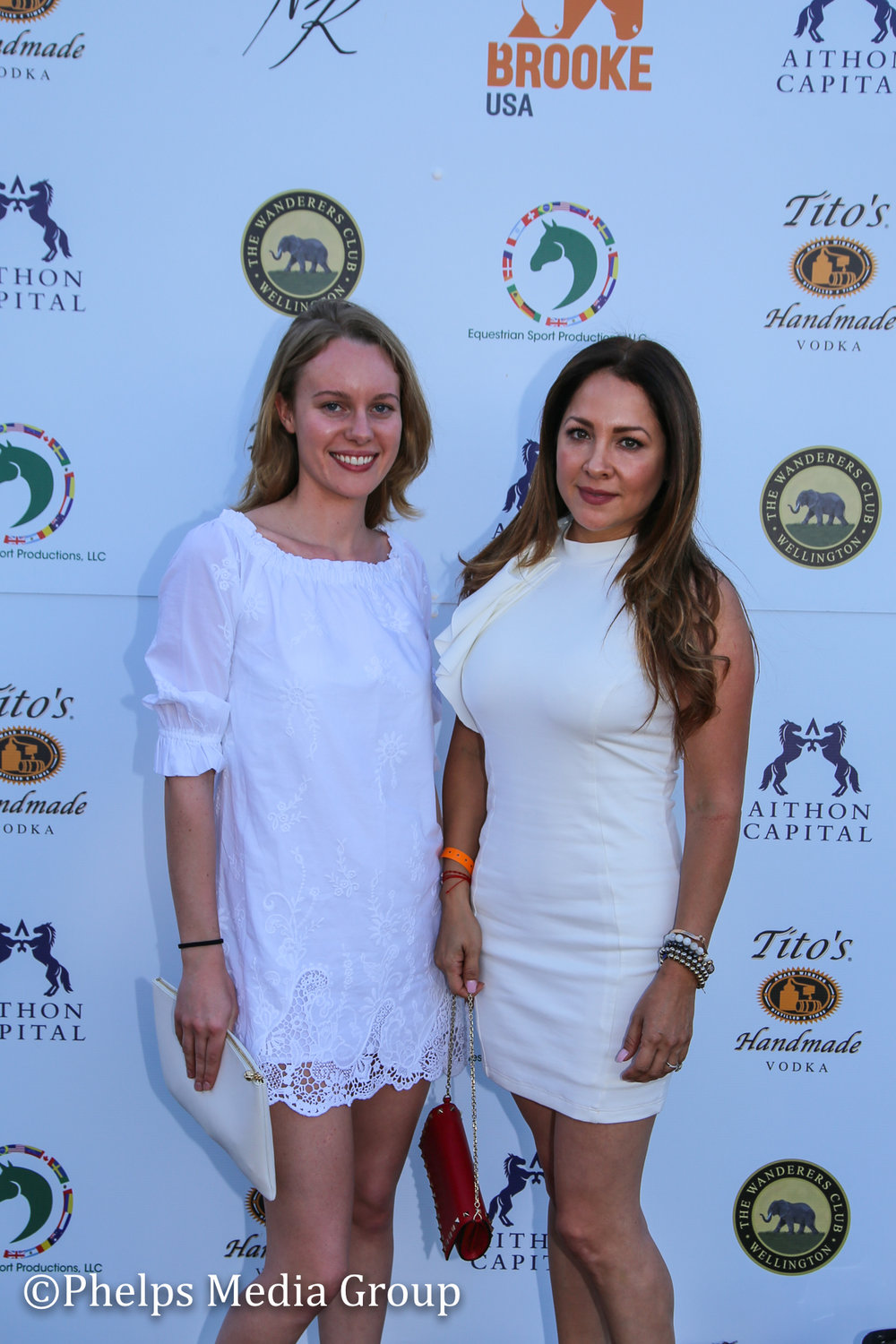 Paulina and Krissana Velez; Nic Roldan's 2nd Annual Sunset Polo & White Party, FL, by Phelps Media.jpg