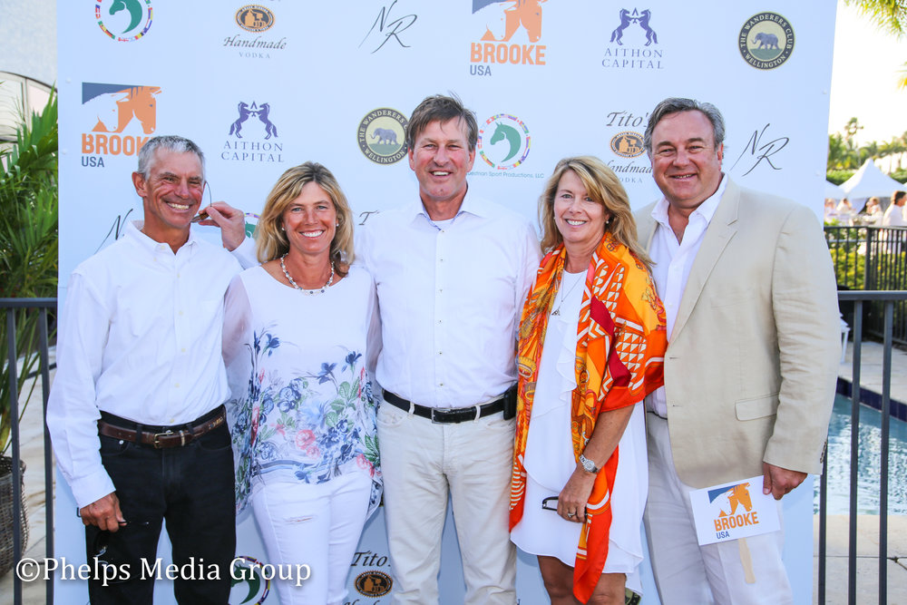 Rick and Cindy McGrath Geri Poules Virginia and Tylor Doubler; Nic Roldan's 2nd Annual Sunset Polo & White Party, FL, by Phelps Media.jpg