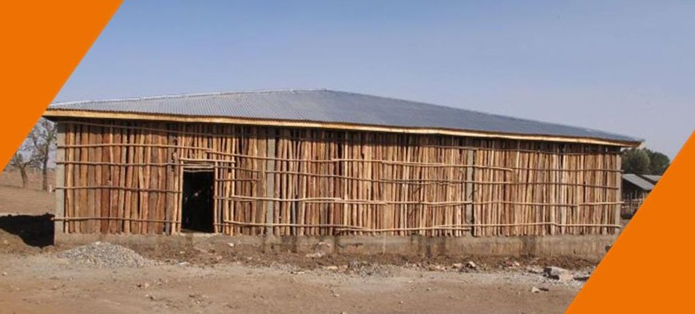 Brooke shade shelters are constructed differently, depending on the location. But all are highly functional, providing plenty of air circulation, and can comfortably and safely hold many animals at a time.