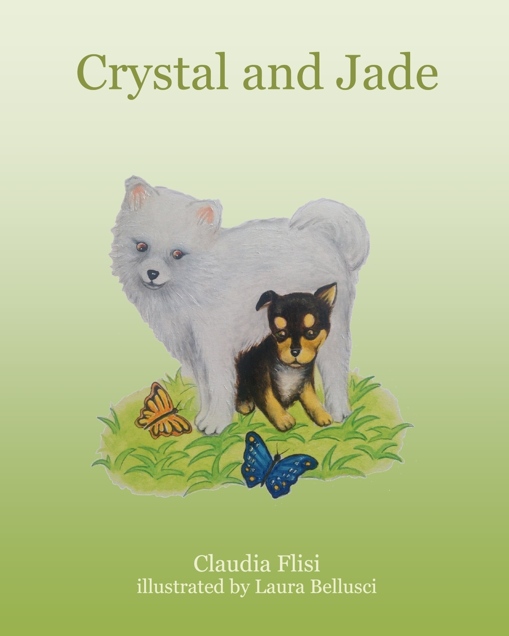 Crystal and Jade  by Claudia Flisi