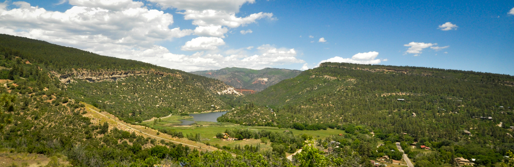 Some of the natural beauty that Durango has to offer - the view from Chelsea's listing 506 Mountain Memories.