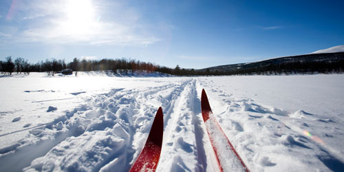 Skate Skiing at Hillcrest Hillcrest has a groomed track in the winter for skate skiing as well as a track for classic cross country skiing. It is a great course for both fast and slow skiers and with a five minute drive to any of your  favorite coffee shops can you really go wrong?>