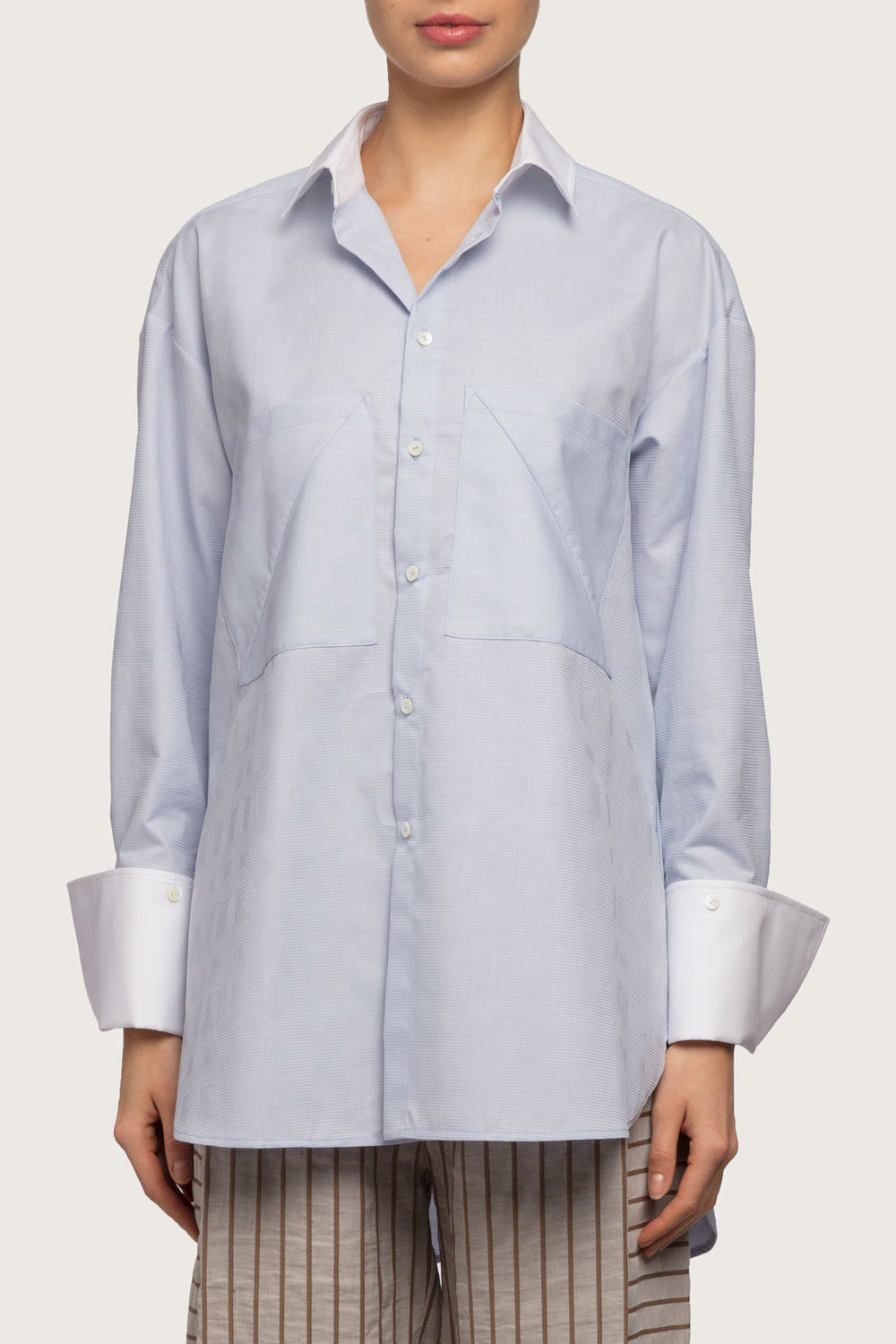 """The Boyfriend Shirt  - Recognised as one of our staple pieces in all of our collections, the boyfriend is a key favourite in classics.The Boyfriend originated from the idea of stealing from """"his"""" closet. Now you can have your own, and just as comfortable."""