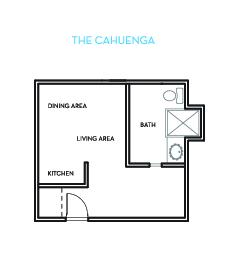 The Cahuenga Floorplan