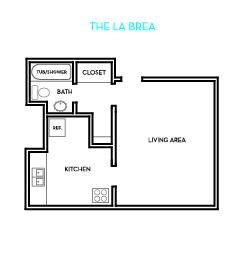 The LaBrea Floorplan