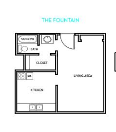 The Fountain Floorplan