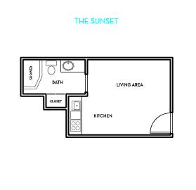 The Sunset Floorplan