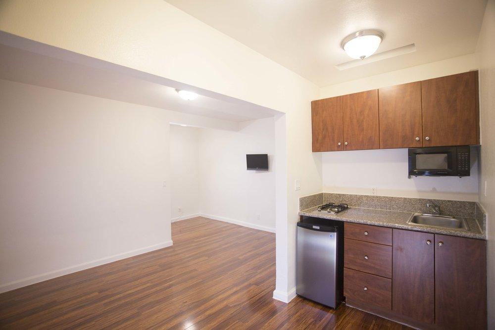 Image of kitchen inside East HOV Building