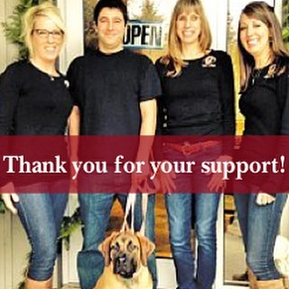 We have been nominated for 2016 readers choice awards!  Thank you to whomever nominated us :) Please vote for us at readerschoice.burlingtonpost.com Go to Best People category! 👍🏻🐾