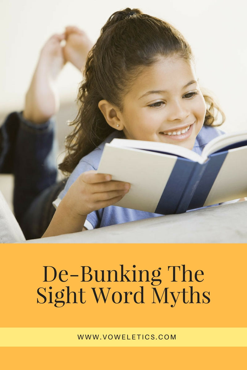 SIGHT WORD MYTHS