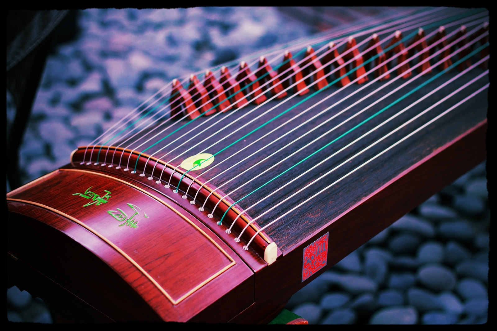 Asian musical instruments zithers pics 240