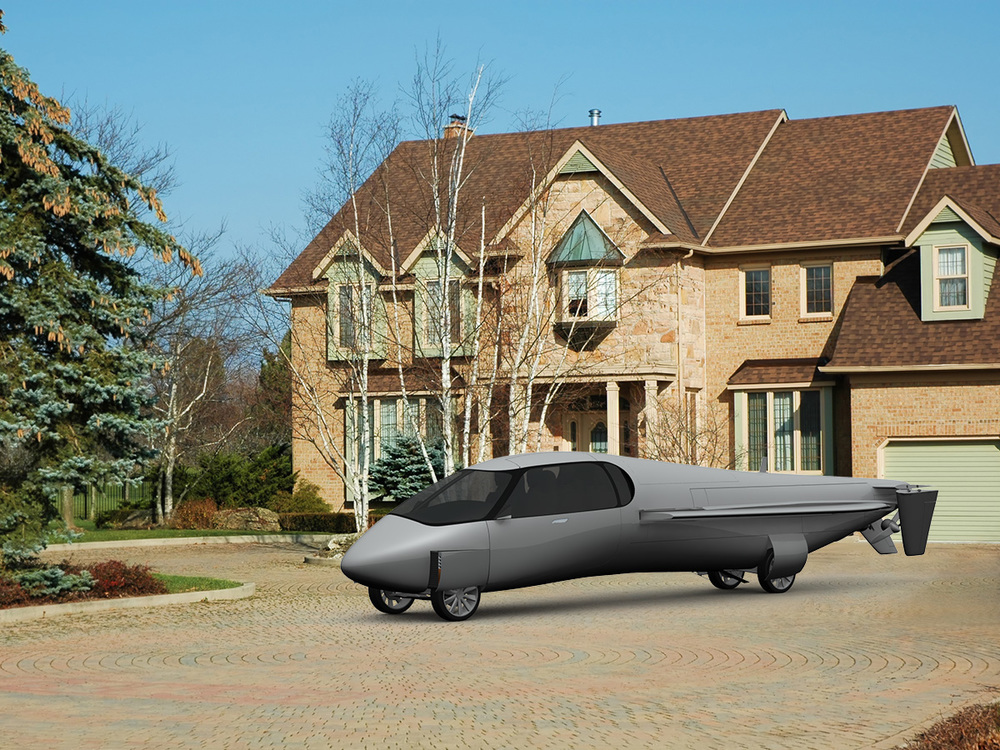 SkyCruiser - Parking at residence