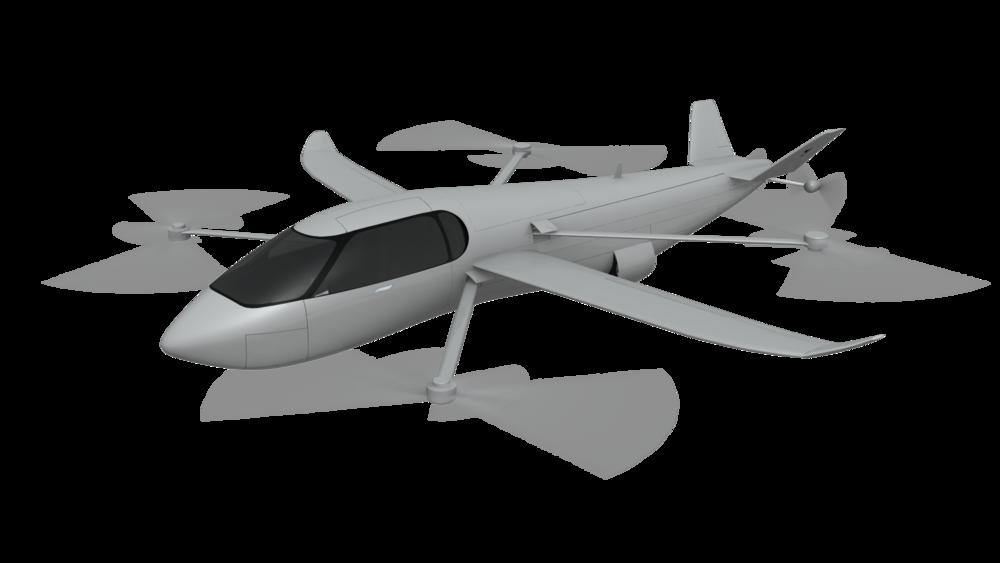 SkyCruiser - VTOL & hover configuration