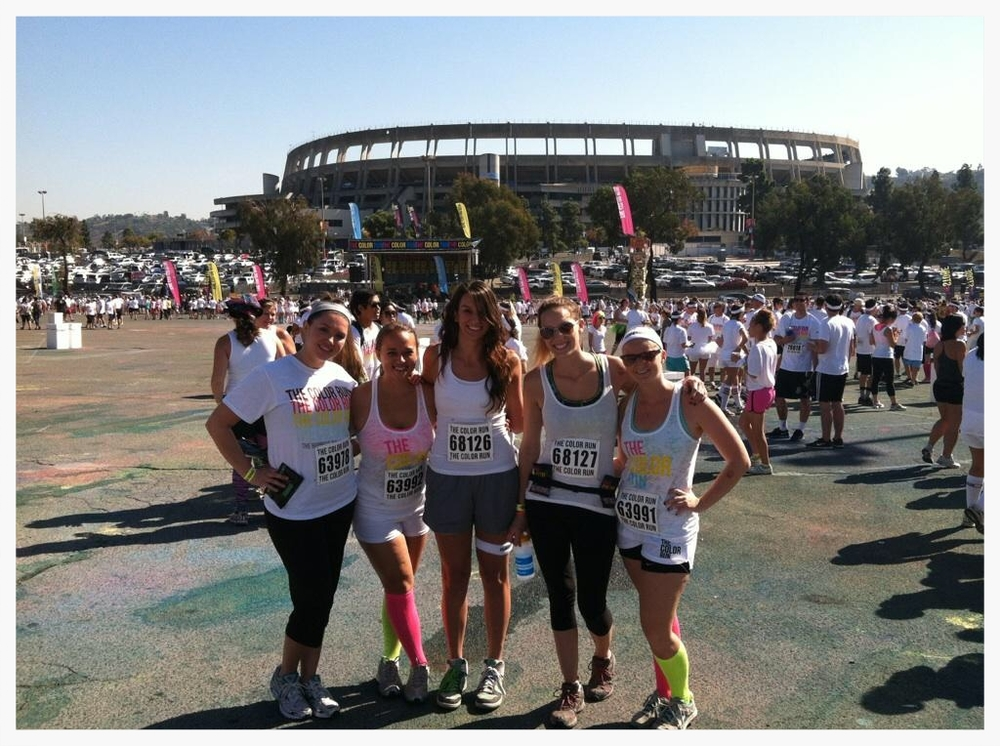 "I ""ran"" my first 5K with some of my best friends"