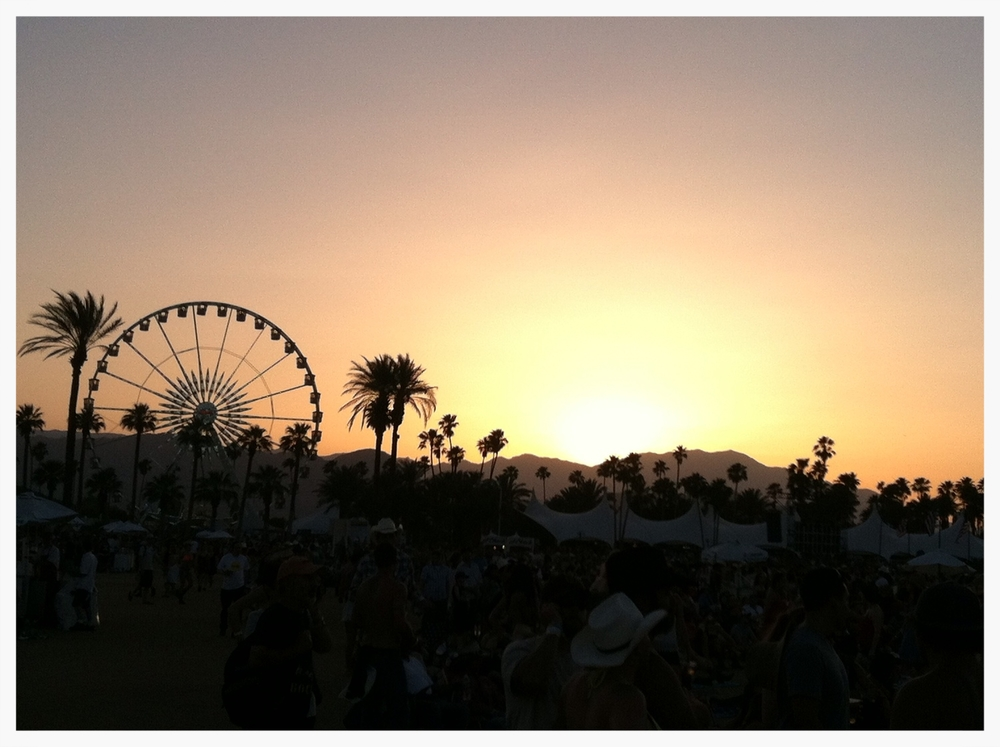 Stagecoach country music festival.