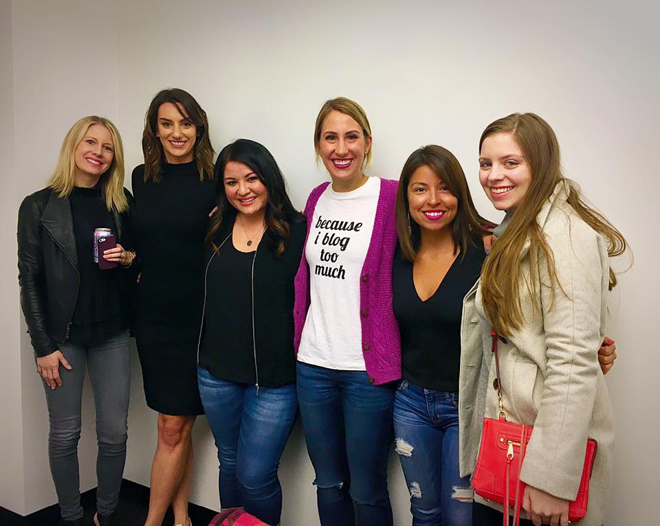 Stylish in Seattle Advisory Board. Andrea of Skinny Purse, myself, Sydney of Gossip & Glamour, Megan of Diary of This Girl, Alix of Alix Rose, Jenn of Hello Rigby.