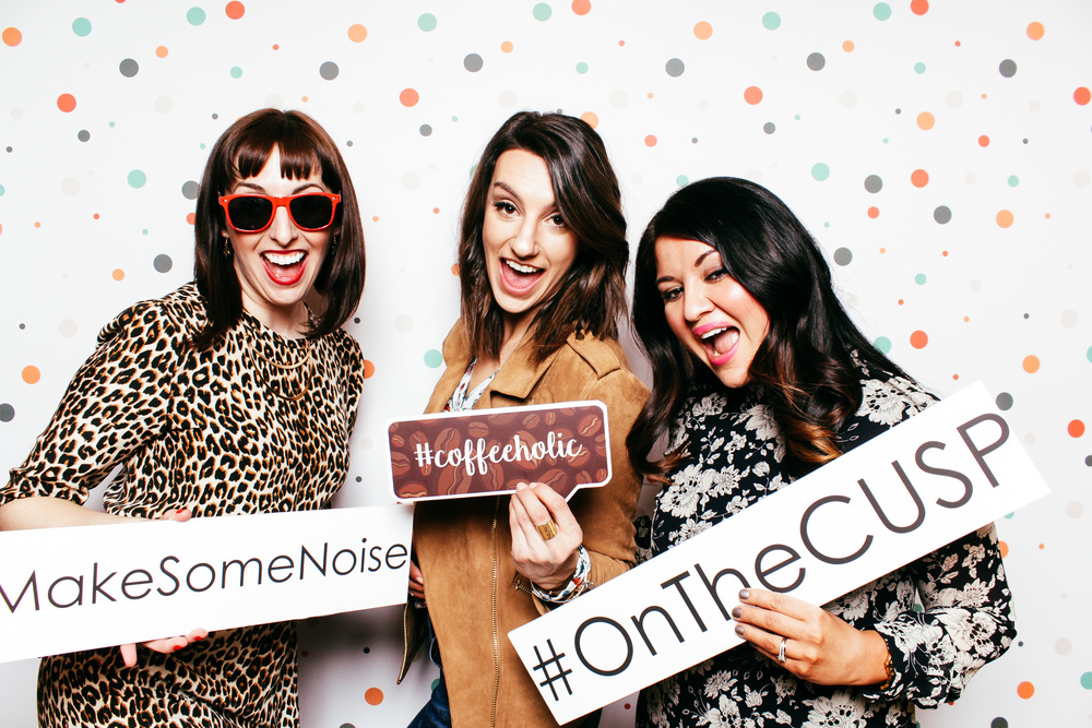 Jessica with Neiman Marcus, myself, Sydney of Gossip & Glamour at CUSP by NM's spring trend event.