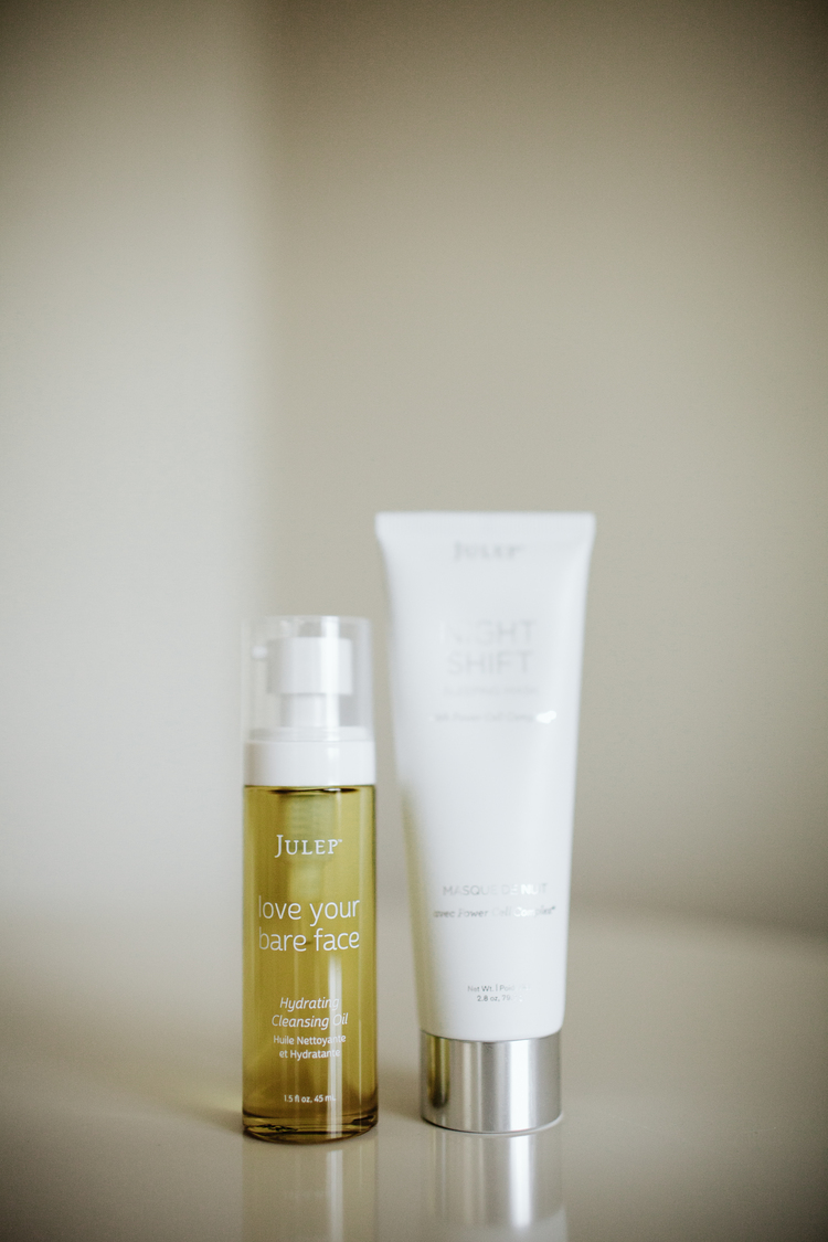 1. - Julep Beauty Love Your Bare Face Cleansing Oil - I was afraid of face oils because of my naturally oily skin, but using only drying products will make your skin overcompensate and produce even more oil. And now I'm in love.
