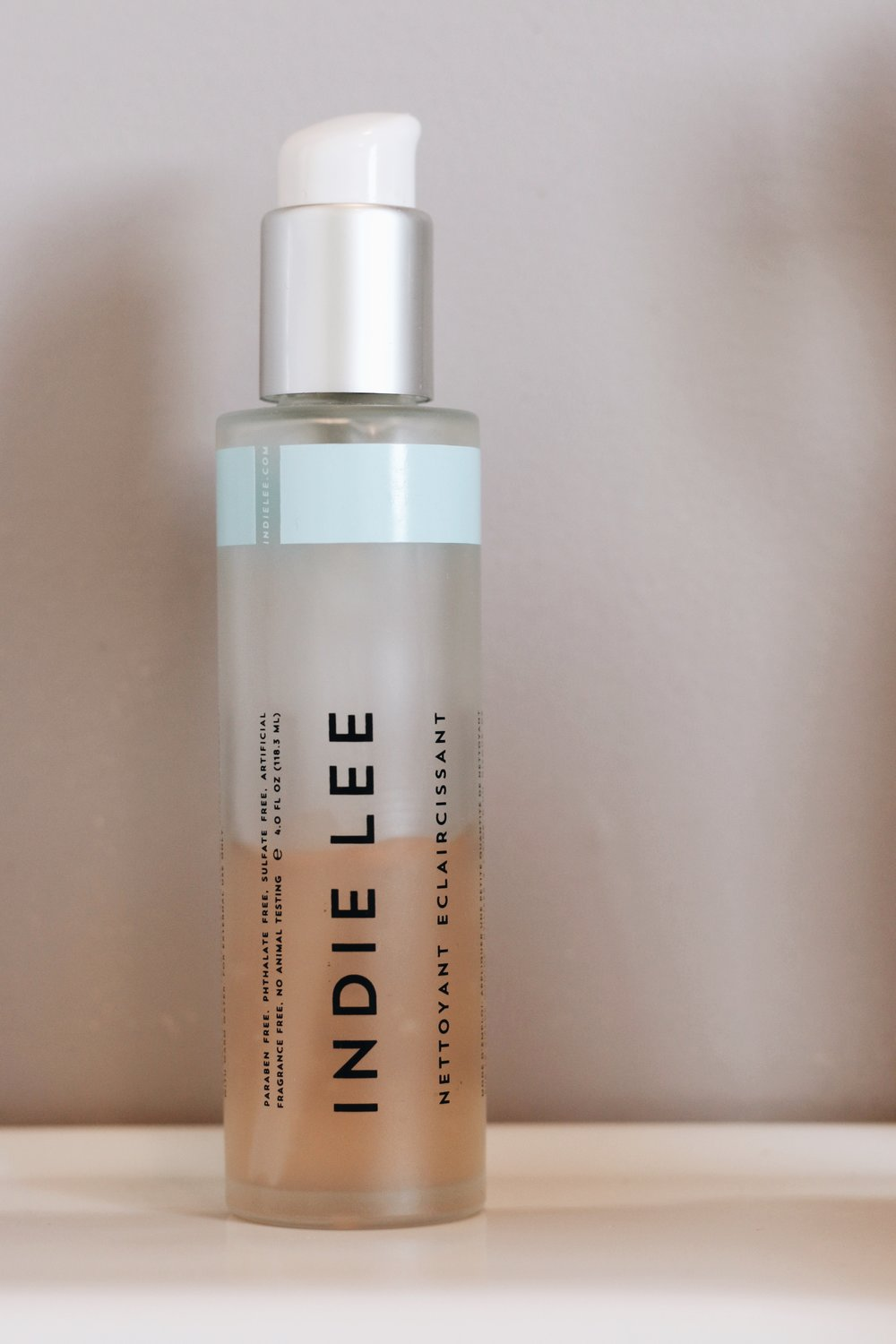 2. - Indie Lee Brightening Cleanser - Was recently introduced to Indie Lee and I'm hooked. All natural, basic cleanser that really feels like it gets in there and gets the dirt out and the makeup off.