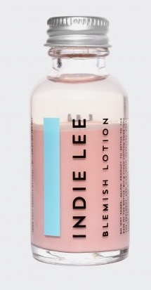 8. - Indie Lee Blemish Lotion -I'm going to be completely honest: toothpaste was my favorite thing for spot treatment. Until now. Just dab a Q-tip in there before you go to bed and blemishes will be dried up in the morning!