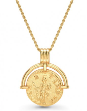 Lucy Williams x Missoma - Roman Arc Coin Necklace