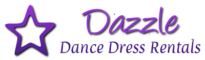 Dazzle Dance Dress Rentals - Ballroom Dress Rentals - Latin, Rhythm, Smooth and Standard Ballroom Dresses