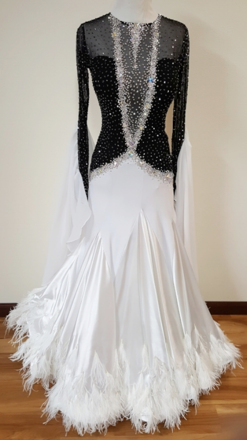Elegant Affair — Dazzle Dance Dress Rentals - Ballroom Dress Rentals ...